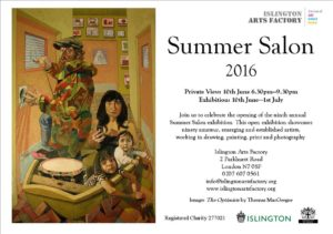 ISLINGTON ART FACTORY Summer salon LONDON